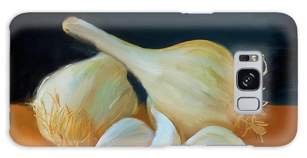 Garlic 01 Galaxy Case by Wally Hampton