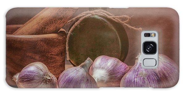 Herbs Galaxy Case - Garlic Bulbs by Tom Mc Nemar