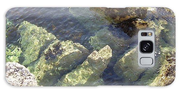 Garron Point Rock Pool Galaxy Case