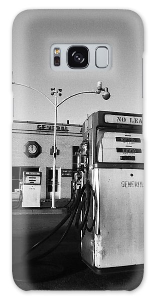 Galaxy Case featuring the photograph Gas Station Somerville Ma by Joy McKenzie