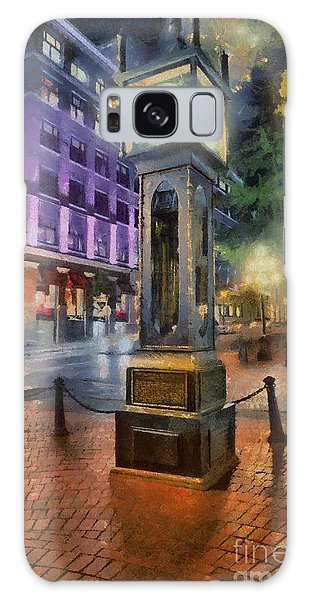 Vancouver City Galaxy Case - Gastown Sreamclock 1 by Jim Hatch
