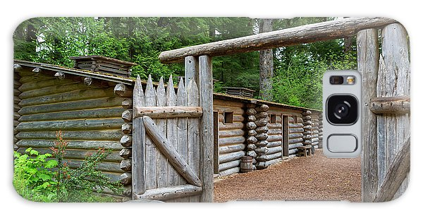 Galaxy Case - Gate To Log Camp At Fort Clatsop by David Gn