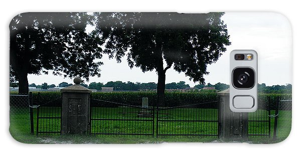 Gates Of Youth Cemetery Galaxy Case