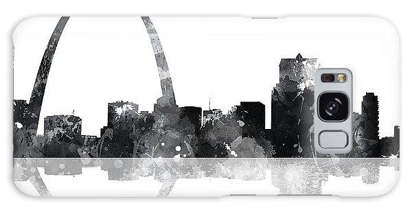 St Louis Mo Galaxy Case - Gateway Arch St Louis Missouri Skyline by Marlene Watson