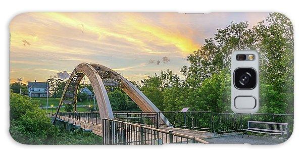 Houlton Galaxy Case - Gateway Crossing Bridge by Christopher Mills