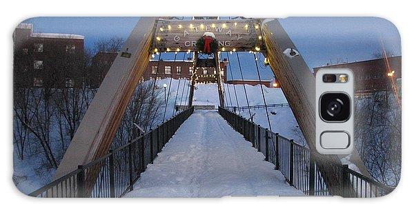 Houlton Galaxy Case - Gateway Crossing In Winter by Judy Pearce