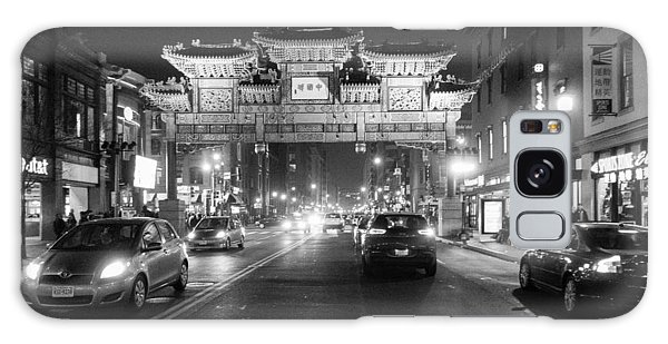 Galaxy Case featuring the photograph Gateway To Chinatown by SR Green