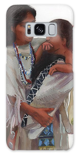 Gathered Tenderness Galaxy Case