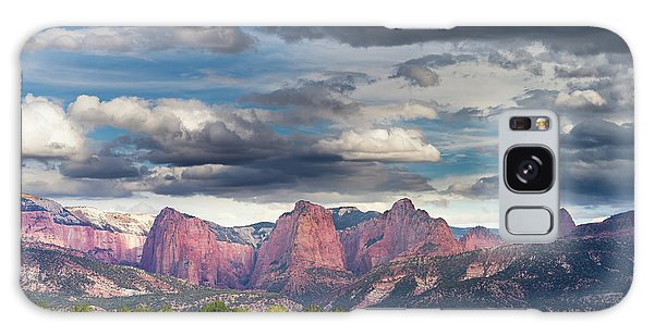 Gathering Storm Over The Fingers Of Kolob Galaxy Case