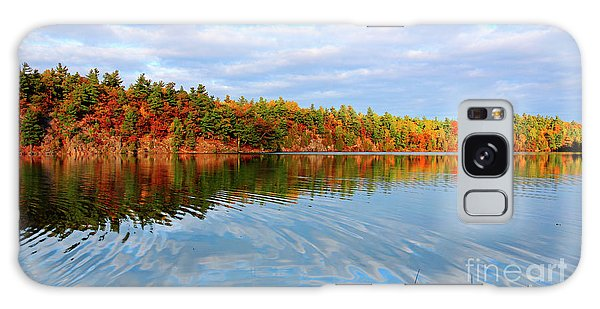 Gatineau Park Autumn Landscape Galaxy Case