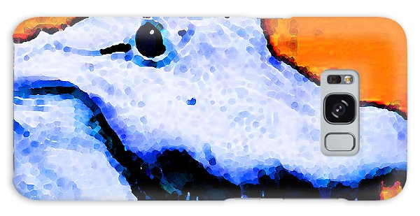 Gator Art - Swampy Galaxy Case by Sharon Cummings