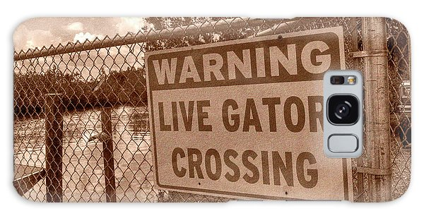 Gator Crossing Galaxy Case