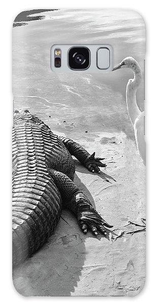 Gator Hand Galaxy Case by Josy Cue