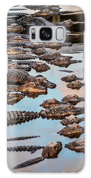 Gator Pack Galaxy Case by Josy Cue