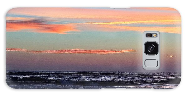 Gator Sunrise 10.31.15 Galaxy Case by LeeAnn Kendall