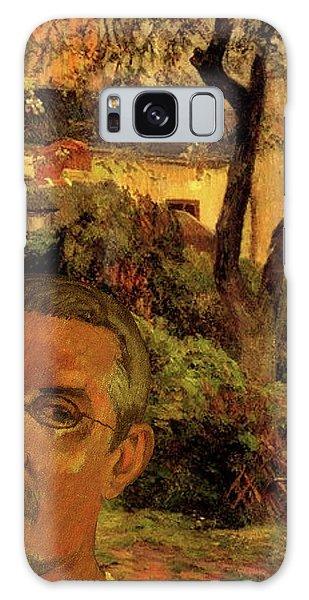 Gauguin Study In Orange Galaxy Case