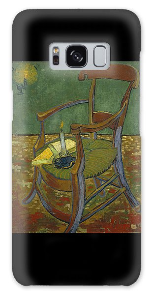 Galaxy Case featuring the painting Gauguin's Chair by Van Gogh