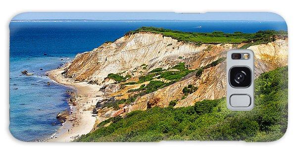 Gay Head Cliffs Galaxy Case by Mark Miller