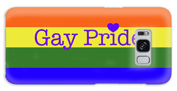 Gay Pride Love Galaxy Case