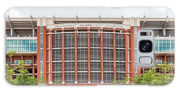 Oklahoma University Galaxy Case - Gaylord Family Oklahoma Memorial Stadium by Ken Wolter
