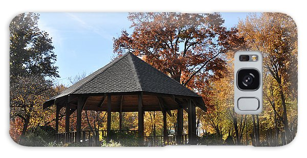 Gazebo At North Ridgeville - Autumn Galaxy Case
