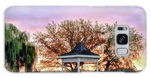 Gazebo Sunrise At Claytor Lake Galaxy Case