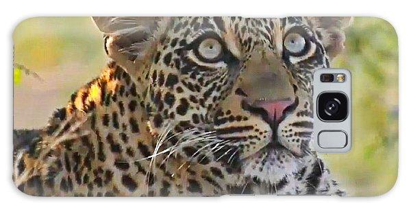 Gazing Leopard Galaxy Case