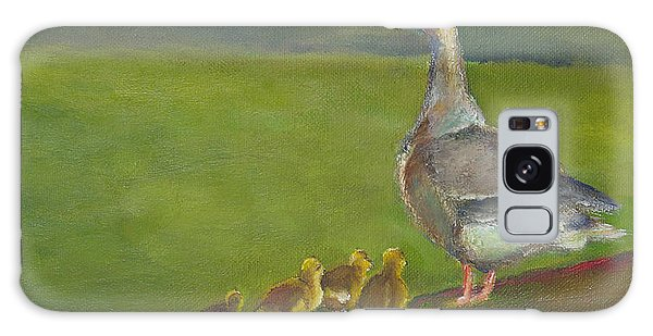 Gosling Galaxy Case - Geese by Julie Dalton Gourgues