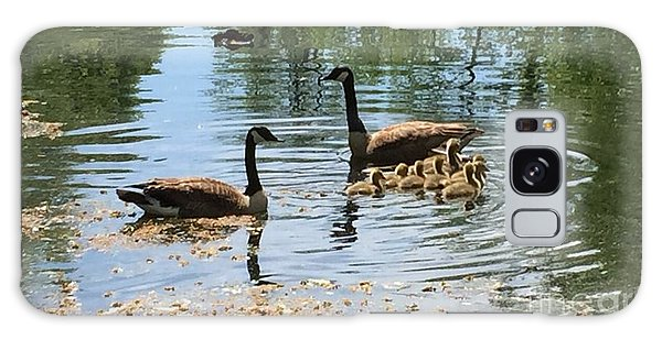 Gosling Galaxy Case - Geese On A Sunday Drive by Susan Hendrich