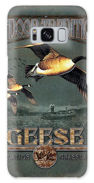Geese Traditions Galaxy Case