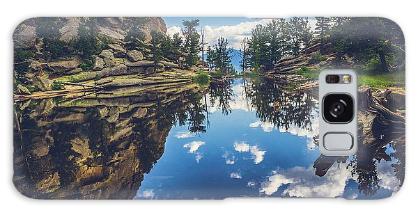 Gem Lake Reflections Galaxy Case