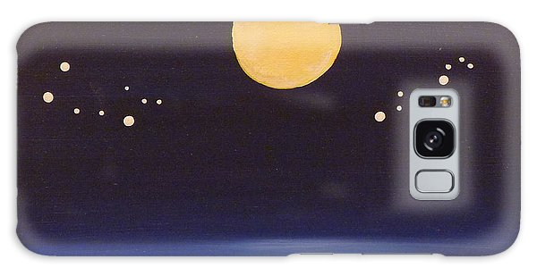Gemini And Leo Galaxy Case by Alys Caviness-Gober