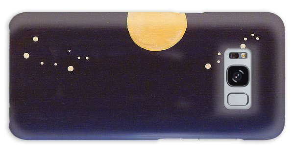 Gemini And Leo Galaxy Case