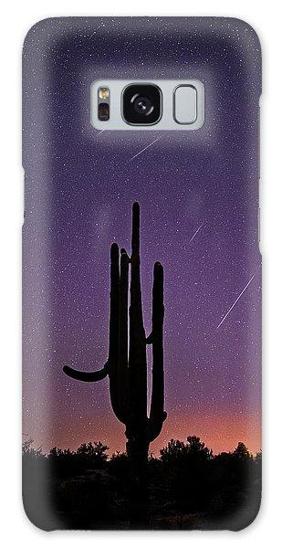 Geminid Meteor Shower #1, 2017 Galaxy Case