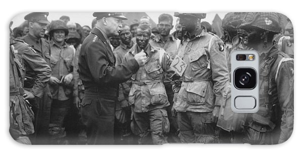 General Eisenhower On D-day  Galaxy Case by War Is Hell Store