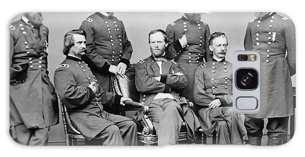 March Galaxy Case - General Sherman And His Staff  by War Is Hell Store