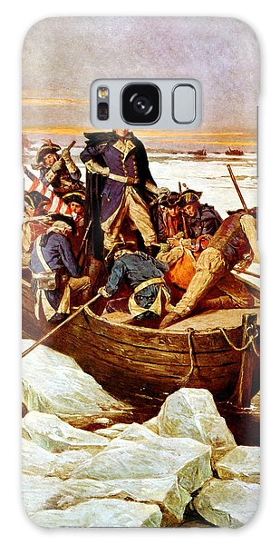 General Washington Crossing The Delaware River Galaxy Case