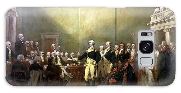 Hero Galaxy Case - General Washington Resigning His Commission by War Is Hell Store