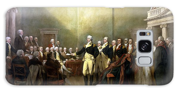 George Washington Galaxy Case - General Washington Resigning His Commission by War Is Hell Store