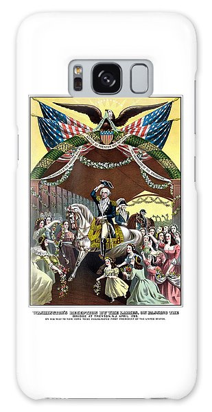 George Washington Galaxy Case - General Washington's Reception At Trenton by War Is Hell Store