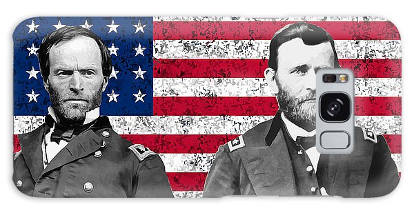 March Galaxy Case - Generals Sherman And Grant  by War Is Hell Store
