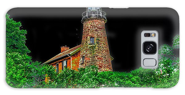 Genesee Lighthouse Galaxy Case