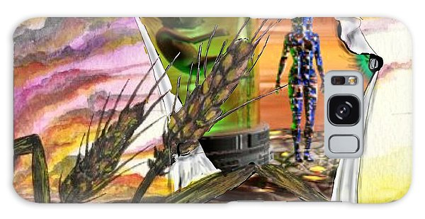 Galaxy Case featuring the digital art Genetically Modified by Darren Cannell