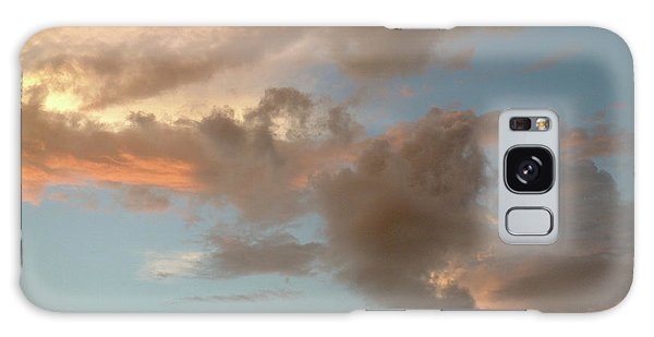 Gentle Clouds Gentle Light Galaxy Case
