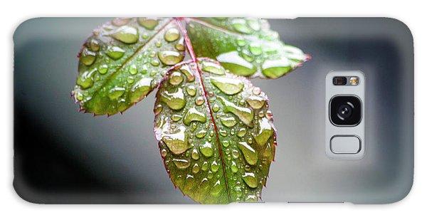 Gentle Rain Drops Galaxy Case