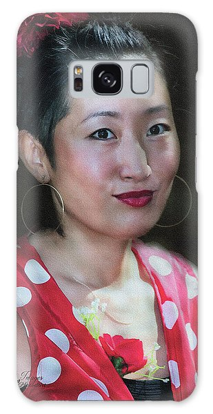 Galaxy Case featuring the photograph Gentle Strength by Wallaroo Images