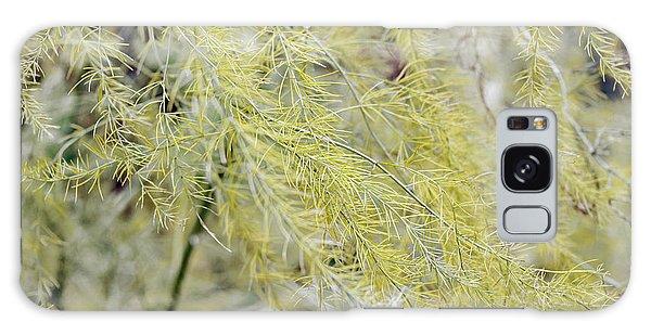 Gentle Weeds Galaxy Case by Deborah  Crew-Johnson