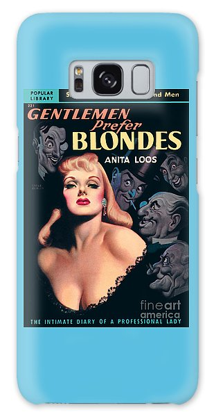 Gentlemen Prefer Blondes Galaxy Case