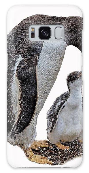 Gentoo Penguins Galaxy Case