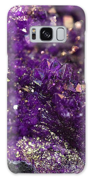 Geode Abstract Amethyst Galaxy Case